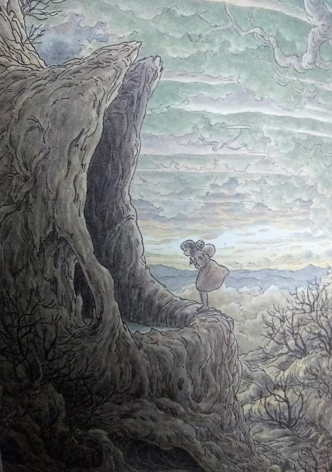 The Tree in the Middle of the World: Late Ghibli Animator Makiko Futaki's Magical Picture Book